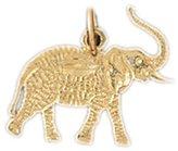 Clevereve 14K Gold Charm Elephant 0.8 - Gram(S)