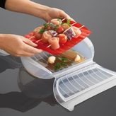 Lekue 11⁄2-qt. Steamer Case with Tray + Free Cookbook