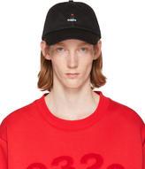 032c Ssense Exclusive Black Rose Cap