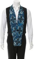 Vivienne Westwood Wool Printed Vest w/ Tags