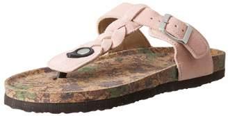 Muk Luks Women's Marsha Terra Turf-Blush Sandal 6 M US
