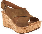 Clarks Wedge Sandals with Back Strap - Casslynn Shae