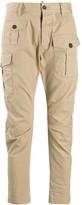 DSQUARED2 Asymmetric Flap Pockets Trousers
