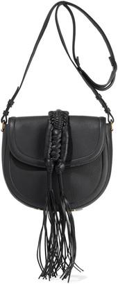 Altuzarra Ghianda Small Tasseled Pebbled-leather Shoulder Bag