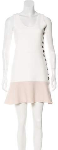 Victoria Beckham Colorblock Mini Dress