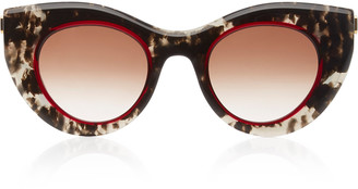 Thierry Lasry Revengy Cat-Eye Printed Acetate Sunglasses