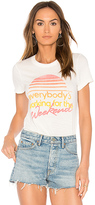 Junk Food Clothing Working For The Weekend Tee in White