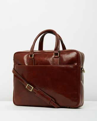 Republic Of Florence The Tokyo Brown Briefcase