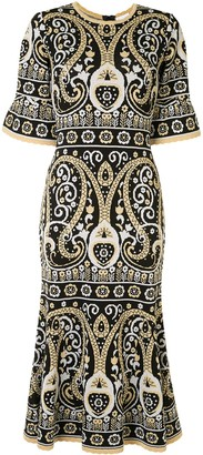 Alice McCall Adore patterned jacquard dress