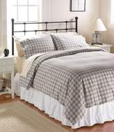 L.L. Bean Heritage Chamois Flannel Comforter Cover, Plaid