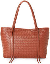Christopher Kon Woven Leather Satchel