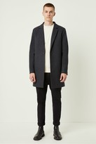 French Connection Winter Melton Button Coat