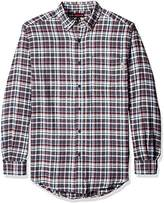 Wolverine Men's Big and Tall Portage Light Weight Two Sided Brushed Flannel Shirt