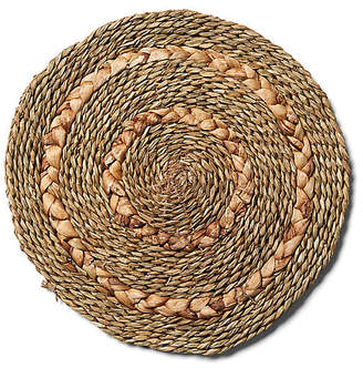 One Kings Lane Set of 6 Braided Place Mats - Natural