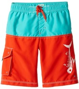 Hatley Fish Bones Boardshorts Boy's Swimwear