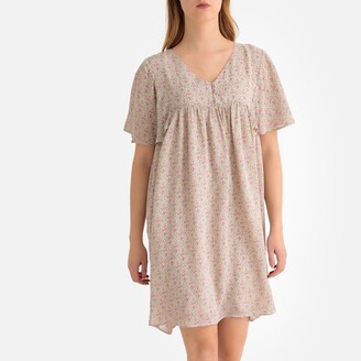 La Redoute Collections Paisley Print Babydoll Dress