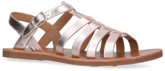Pom D'Api Leather Plagette Strap Sandals
