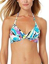 Anne Cole Women's Painterly Paisley Underwire Twist Bikini Top