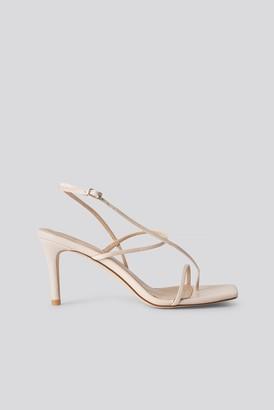NA-KD Strappy Stiletto Sandals