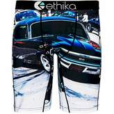 Ethika Men's Black SS Boxer Brief Underwear Black L