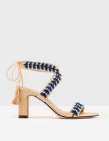 Boden Caterina Embroidered Heels