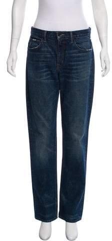 Helmut Lang Mid-Rise Boyfriend Jeans w/ Tags