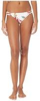 Roxy Lahaina Bay Full Bottoms (Bright White Tropic Call) Women's Swimwear