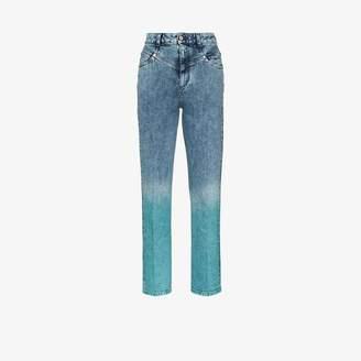 Stella McCartney high waist ombre jeans