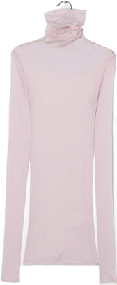 American Vintage Massachusetts Baby Pink Rollneck - Small