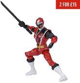 Power Rangers Ninja Steel Red Ranger Action Figure - 12.5cm