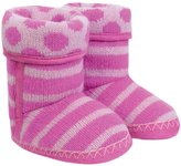 Jo-Jo JoJo Maman Bebe Cosy Slipper Boots (Toddler/Kid) - Fuchsia/Pink-4-5 Years
