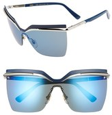 MCM Women's 63Mm Oversized Sunglasses - Silver