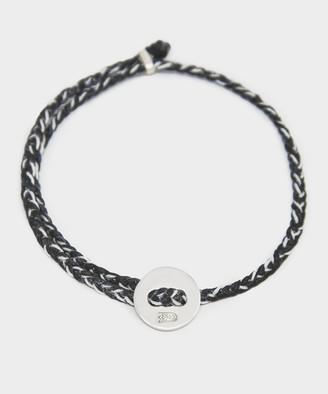 Scosha Signature 4MM Bracelet in Black and Silver
