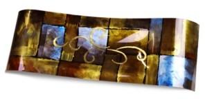 """Jasmine Art Glass 28"""" Center Platter"""