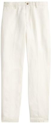 Polo Ralph Lauren Straight Fit Linen-Blend Pants
