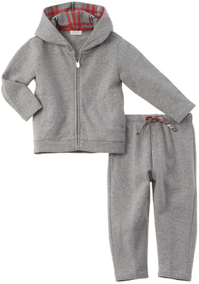 Il Gufo Logo 2Pc Jacket & Pant Set
