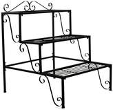 Sorbus 3 Step Flower Stand - Black