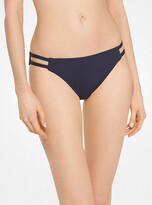 Michael Kors Double-Strap Bikini Bottoms