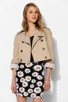Urban Outfitters Urban Renewal Cropped Trench Jacket