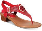 Tommy Hilfiger Kandes Block-Heel Thong Sandals
