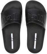 McQ by Alexander McQueen Women's Infinity Slide Sandal Black