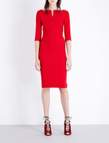 Roland Mouret Etty stretch-crepe dress