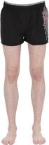 Just Cavalli Tribal Printed Nylon Swimming Shorts