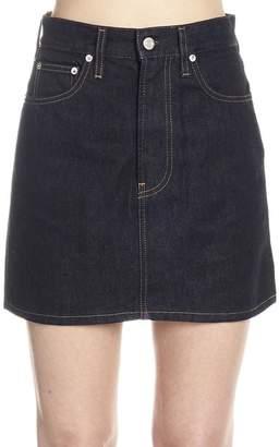 Helmut Lang High-Waisted Mini Skirt