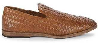 Frye Chris Woven Leather Loafers