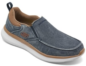 Skechers Men's Delson 2.0 Larwin Slip-On Casual Sneakers from Finish Line