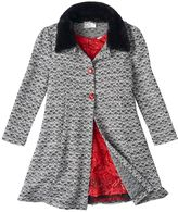 Knitworks Girls 4-6x Marled Jacket & Rosette Dress Set