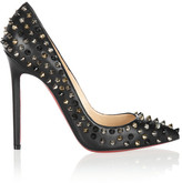 Christian Louboutin Pigalle Spikes 120 nappa leather pumps