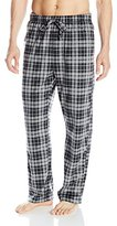 Nautica Men's Plaid Sueded-Fleece Pant