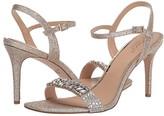 Badgley Mischka Natasha (Light Gold/Clear) Women's Shoes